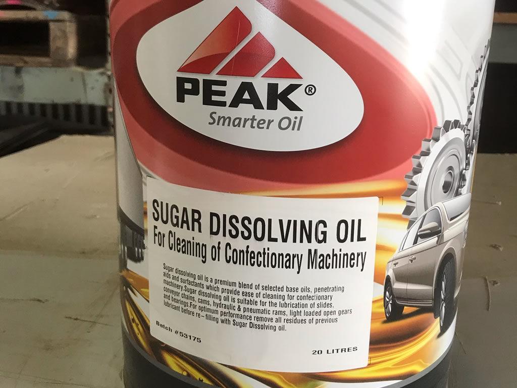 Sugar Dissolving Oils